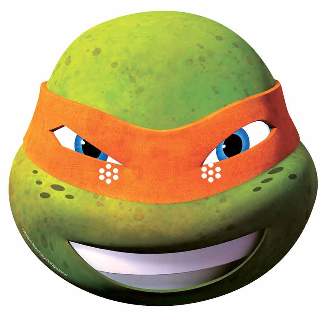 Donatello Teenage Mutant Ninja Turtles Official New 2015 Single Card Face Mask