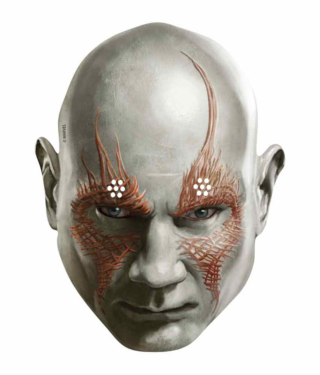 271ed2a8d53 Drax the Destroyer Marvel Guardians of the Galaxy Card Face Mask ...