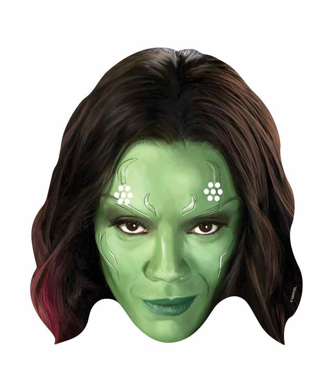 6d4de78586f Gamora Marvel Guardians of the Galaxy Card Face Mask