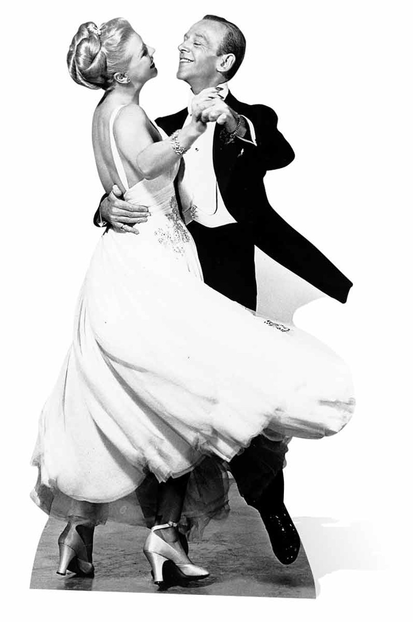 Fred Astaire And Ginger Rogers Lifesize Cardboard Cutout Standee Standup Buy Standups Standees At Starstills Com