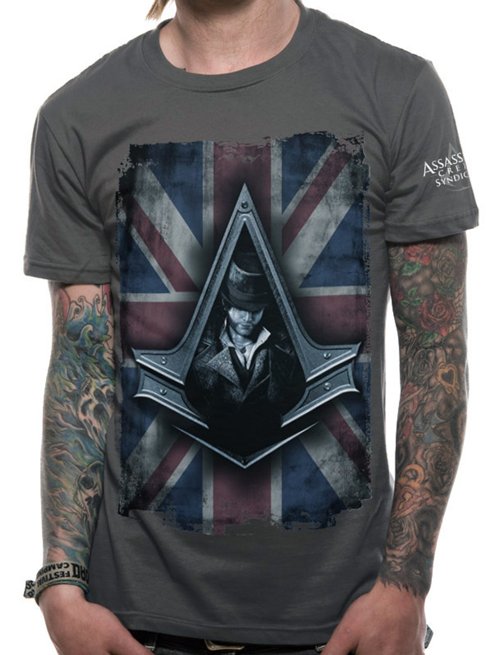 Assassin S Creed Syndicate Jacob Frye Union Jack Style Official