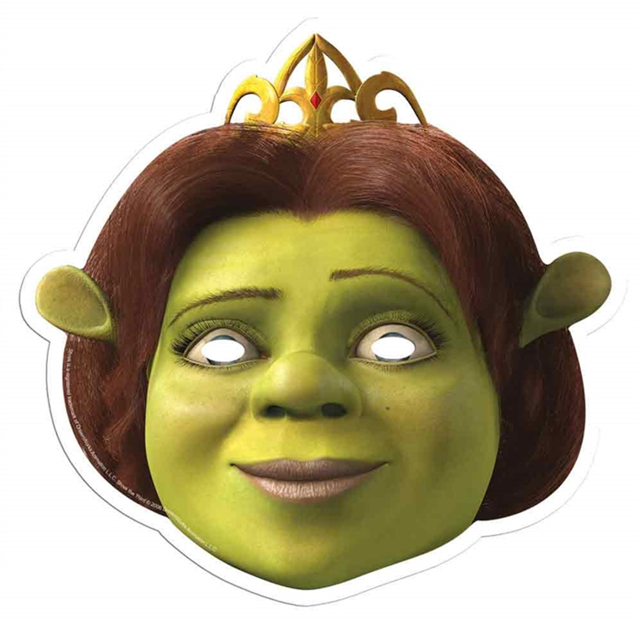 Princess Fiona Single Card Party Face Mask In Stock Now With Free Uk Delivery Worldwide Shipping