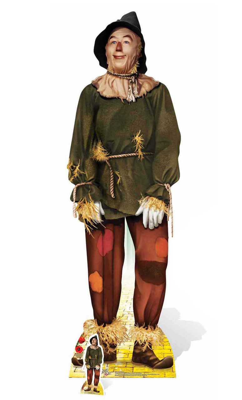 Scarecrow From The Wizard Of Oz Lifesize Cardboard Cutout Standee
