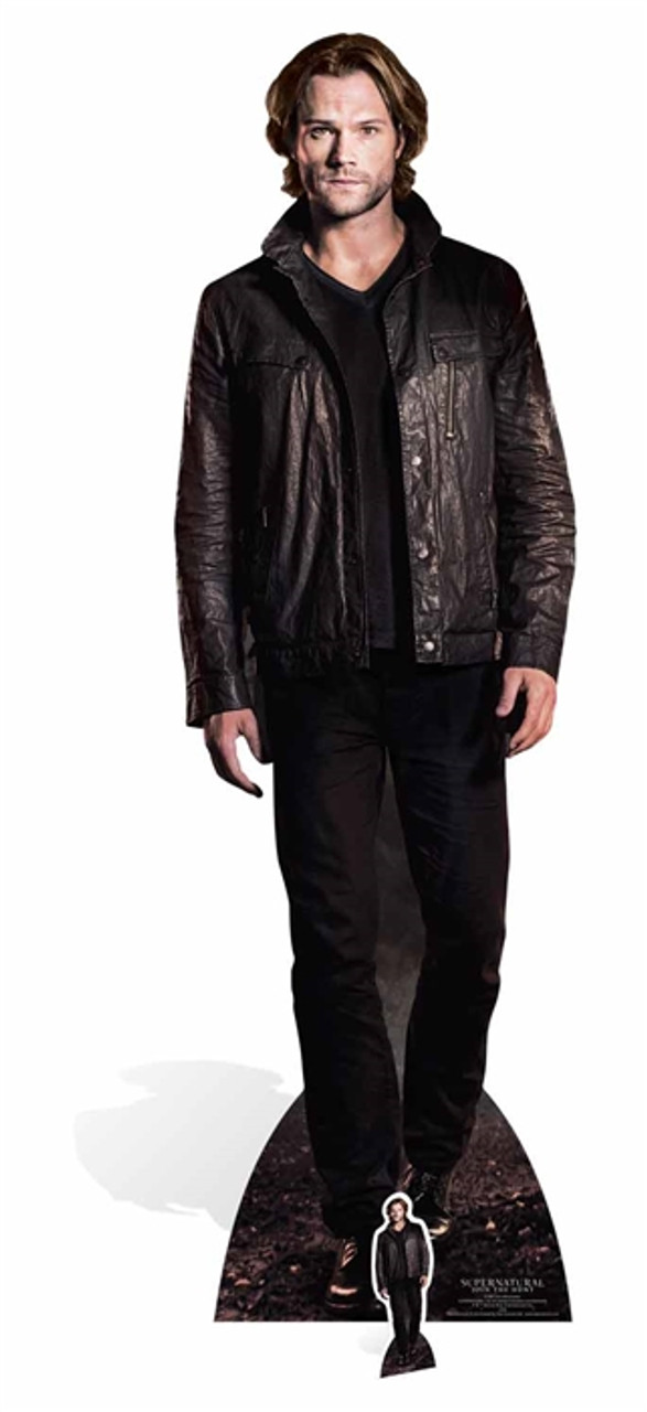 Sam Winchester From Supernatural Official Lifesize Cardboard Cutout
