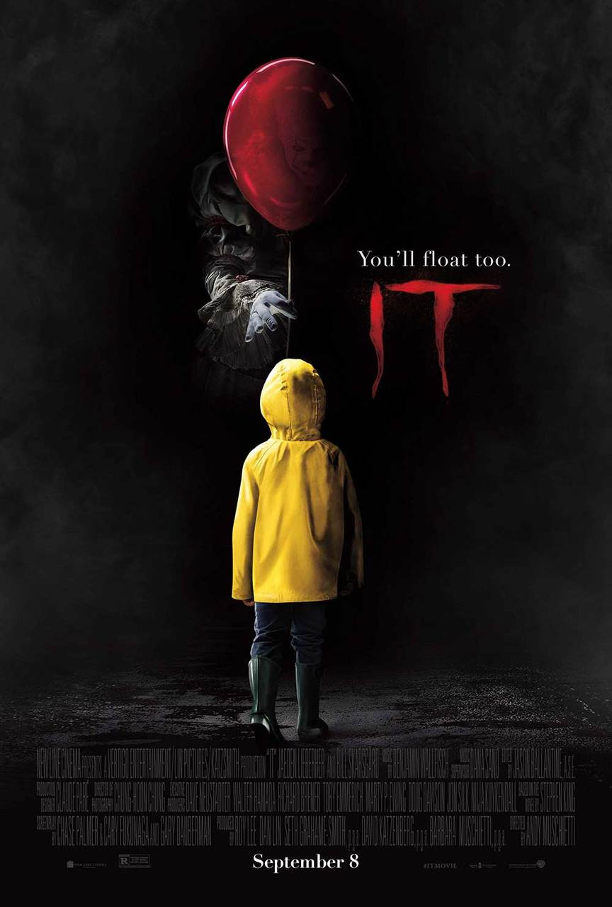 IT Movie Pennywise Stephen King Horror Poster Movie