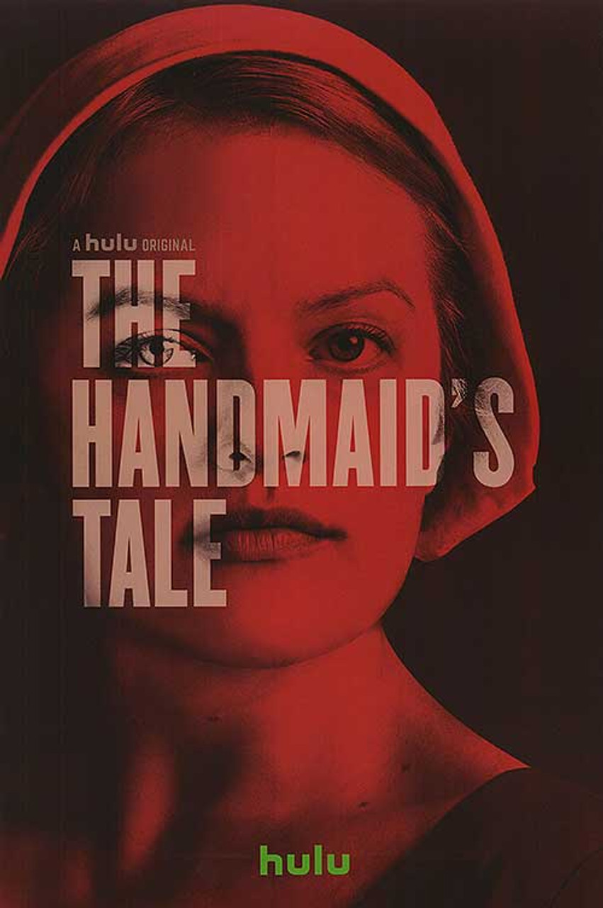 The Handmaids Tale Rare Original Hulu Tv Poster Buy Original Film