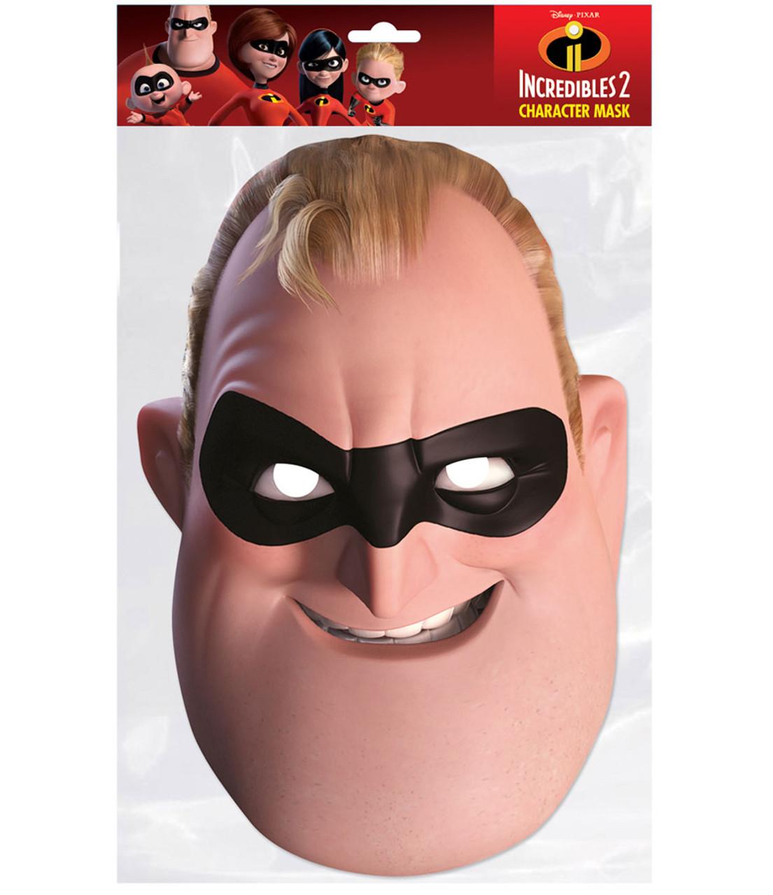 The Incredible 2 Superhero Party Face Mask Jack Jack Parr Mask