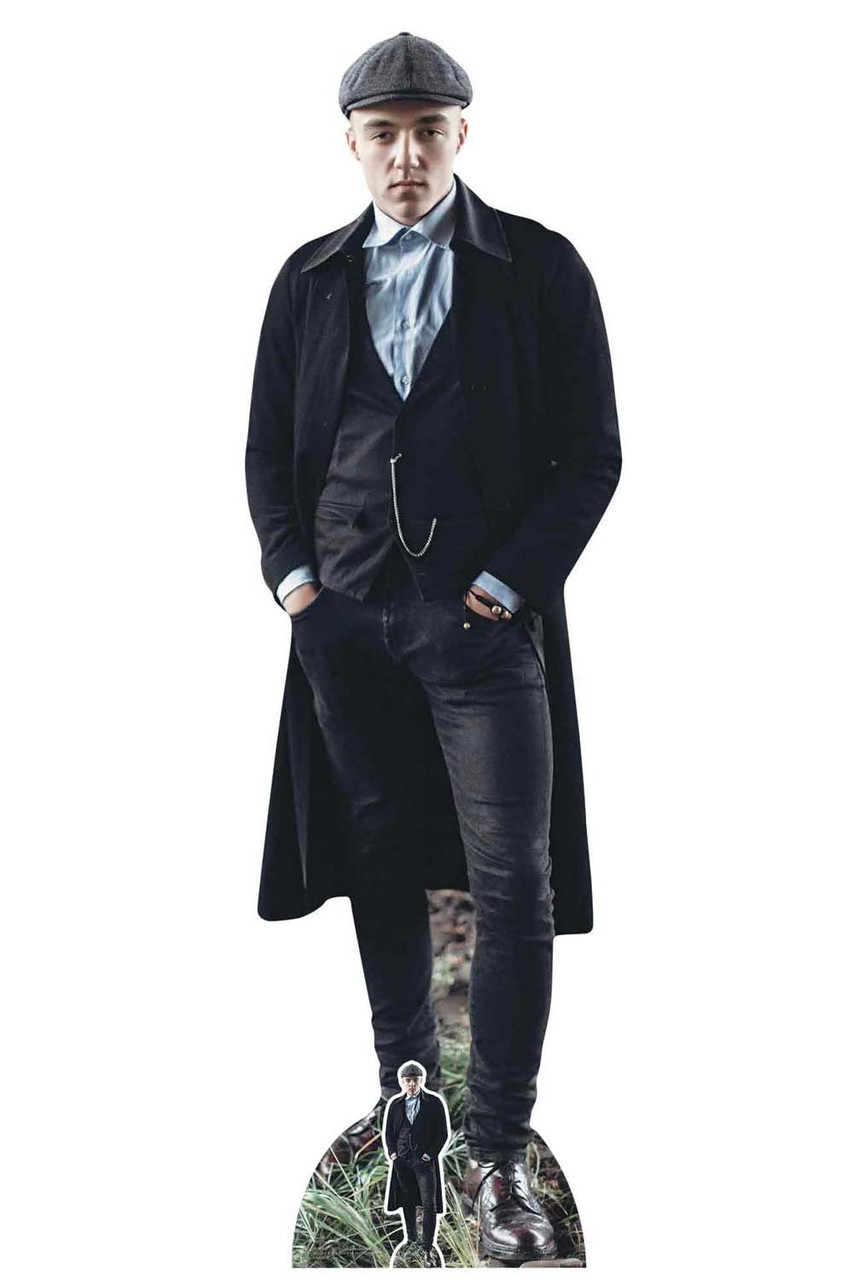 a348e66ef Peaky Blinders Style Gangster with Watch Chain Cardboard Cutout / Standup