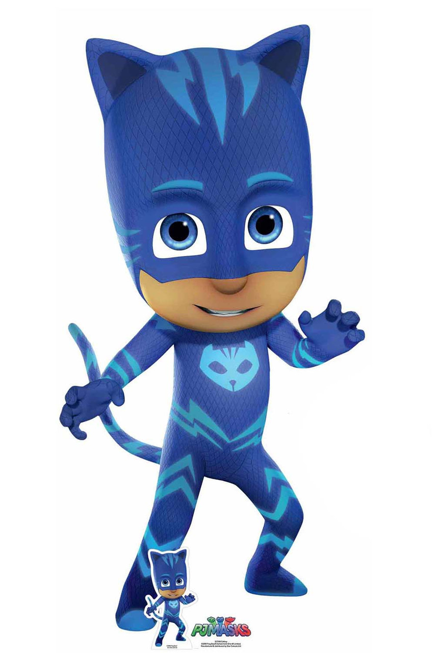 catboy from pj masks licensed lifesize cardboard cutout    standup