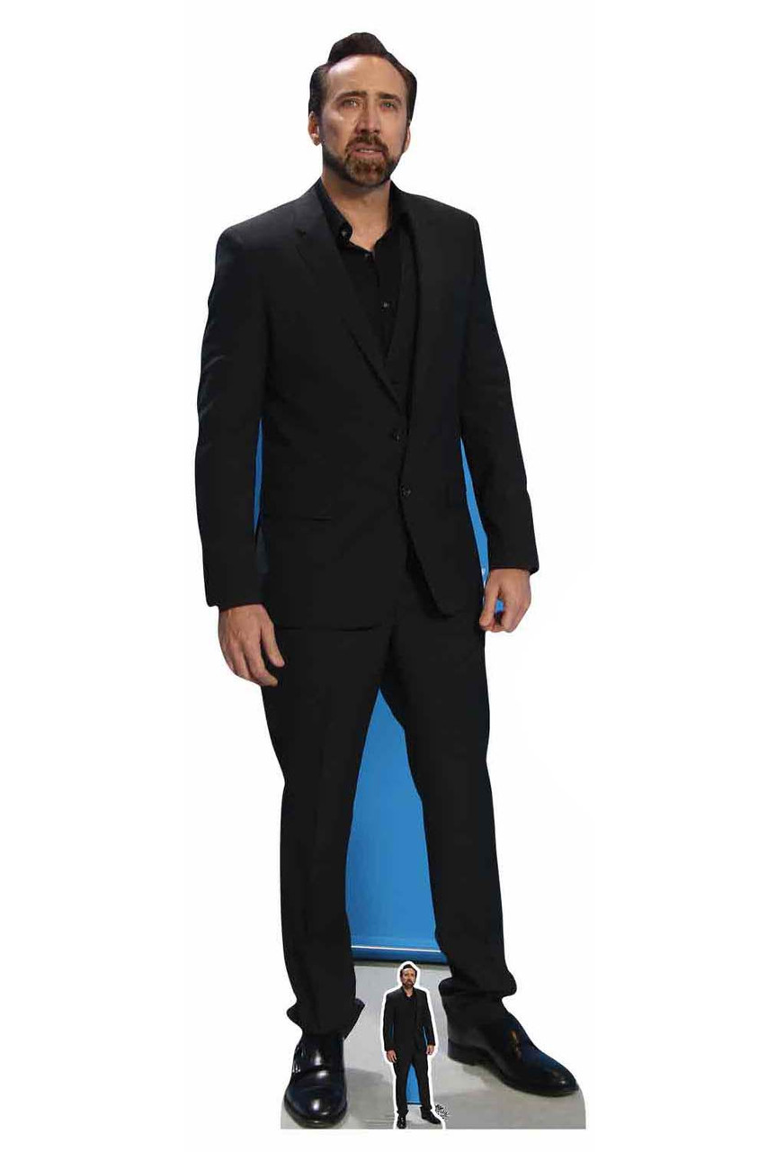 Brad Pitt Actor Lifesize Cardboard Cutout 180cm Tall-Invite him to your Party!