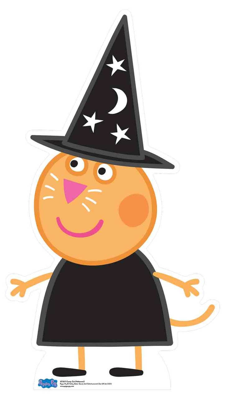 Candy Cat From Peppa Pig Halloween Cardboard Cutout Standee