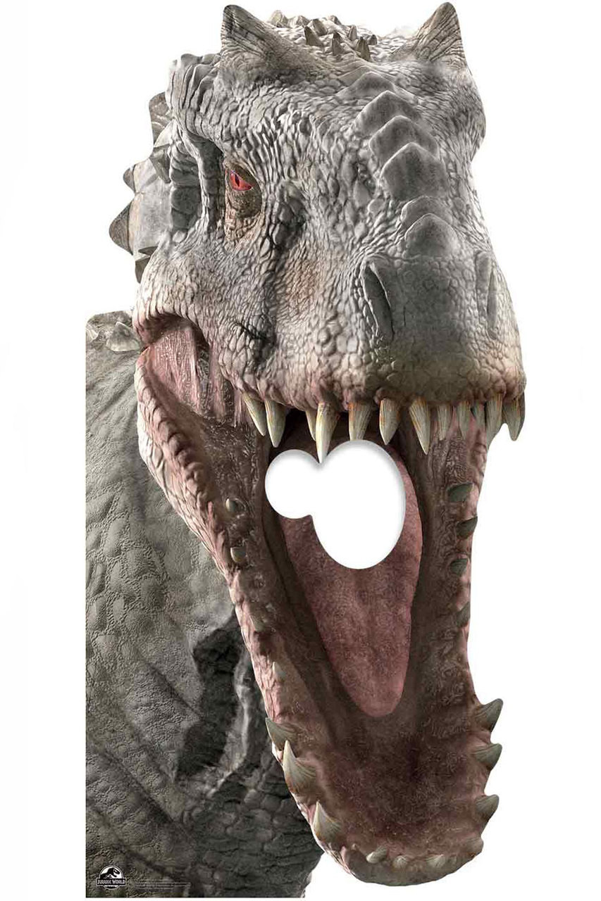 Indominus Rex Official Jurassic World Stand in Lifesize Cardboard Cutout