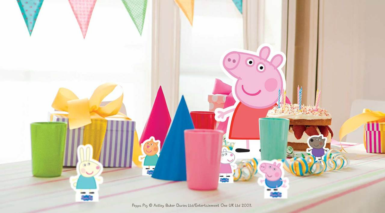 Peppa Pig Friends Party Pack