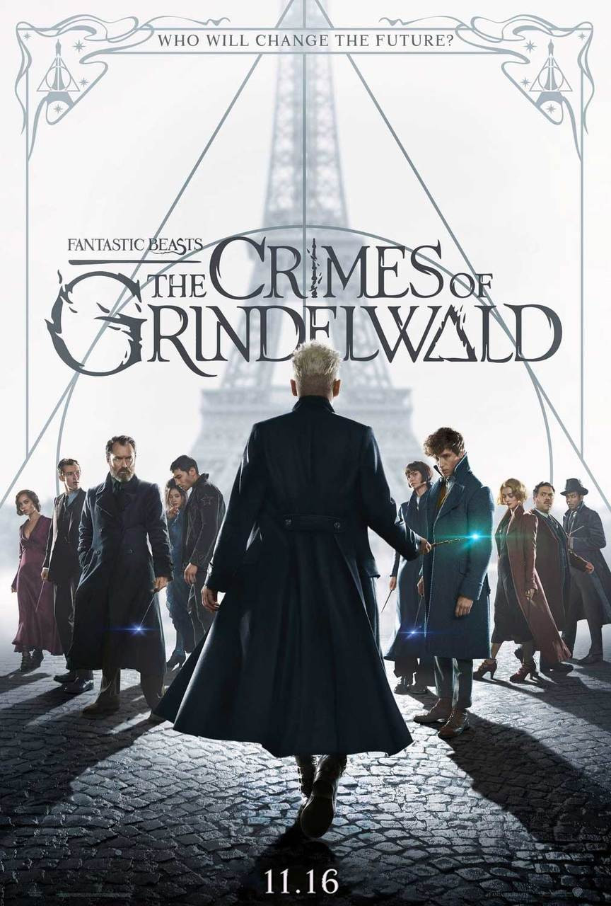 Fantastic Beasts: The Crimes of Grindelwald Movie Poster - Double ...