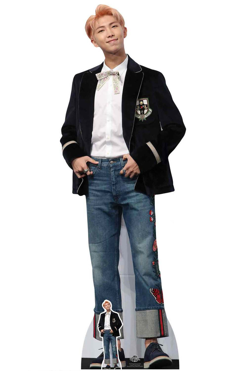 Jungkook from Bangtan Boys Lifesize and FREE Mini Cardboard Cutout K-Pop bts