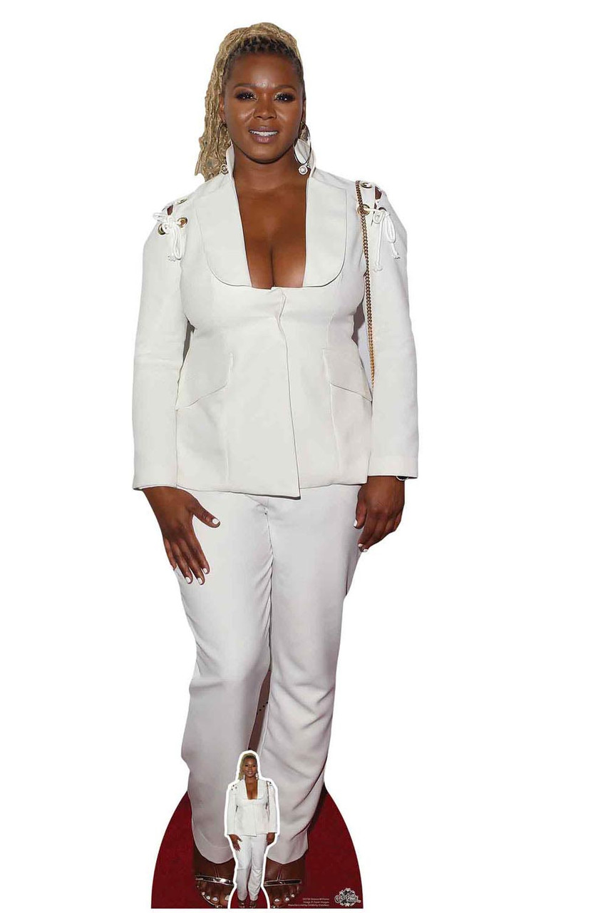 lifesize Tennis Outfit Standee. Serena Williams Cardboard Cutout