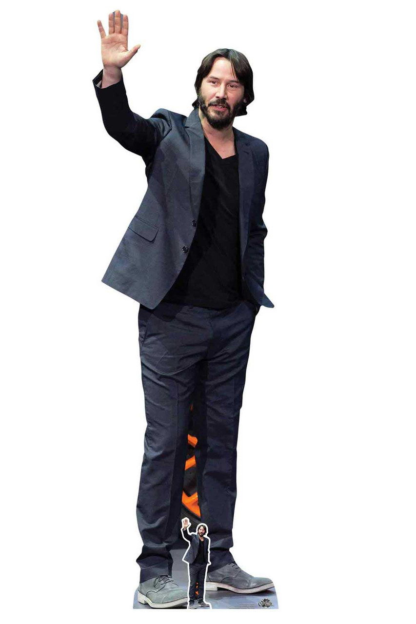 Keanu Reeves Celebrity Lifesize Cardboard Cutout Standee Standup