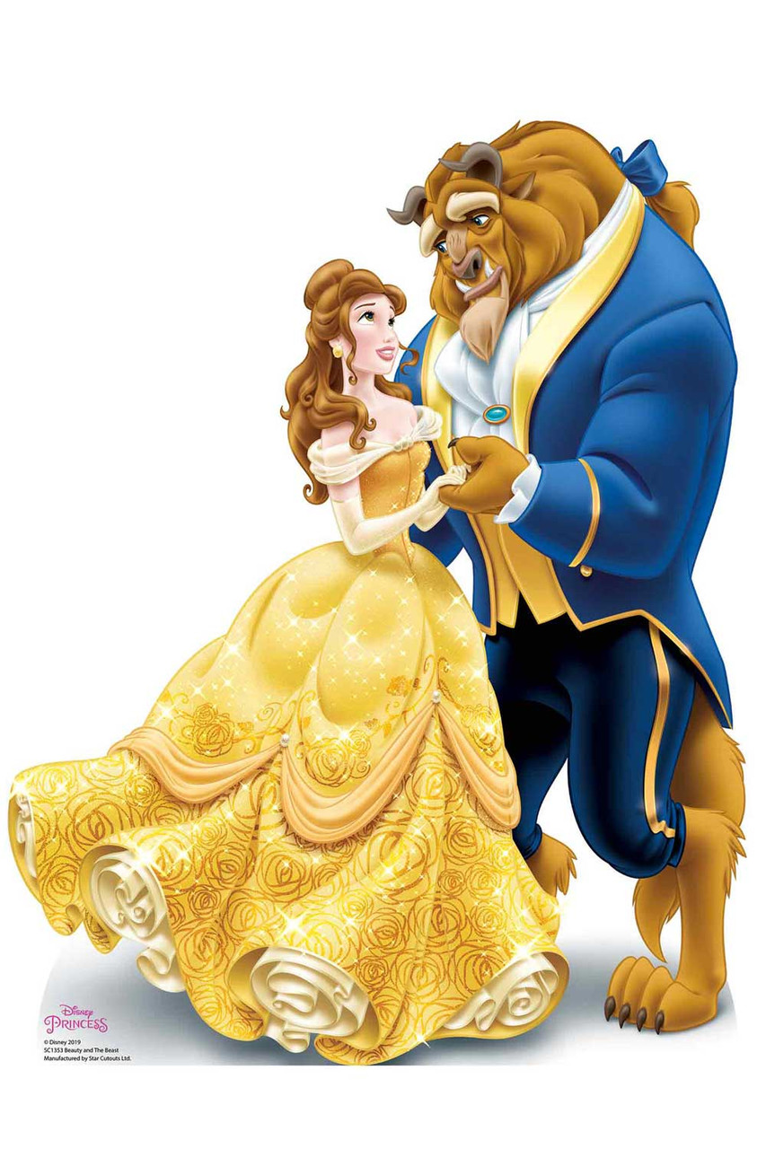 Princess Belle Beauty And The Beast Official Disney Cardboard Cutout