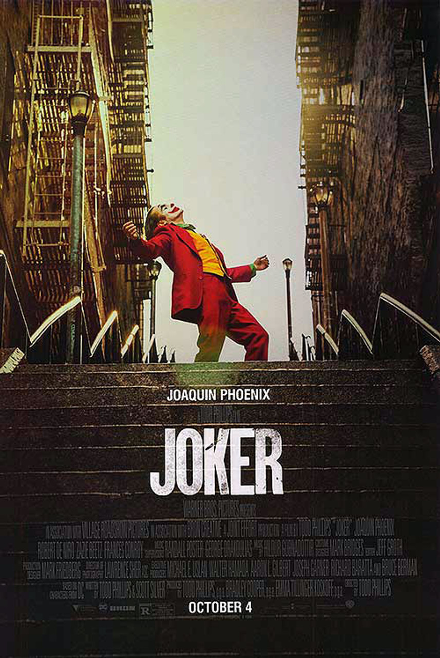 Joker Original Movie Poster - Double Sided Final Style