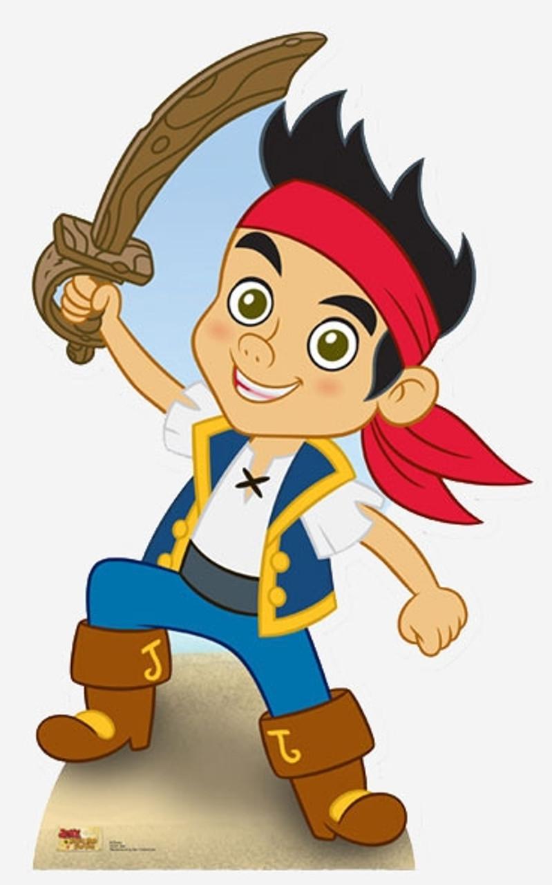 Jake & The Neverland Pirates Cardboard Cutouts