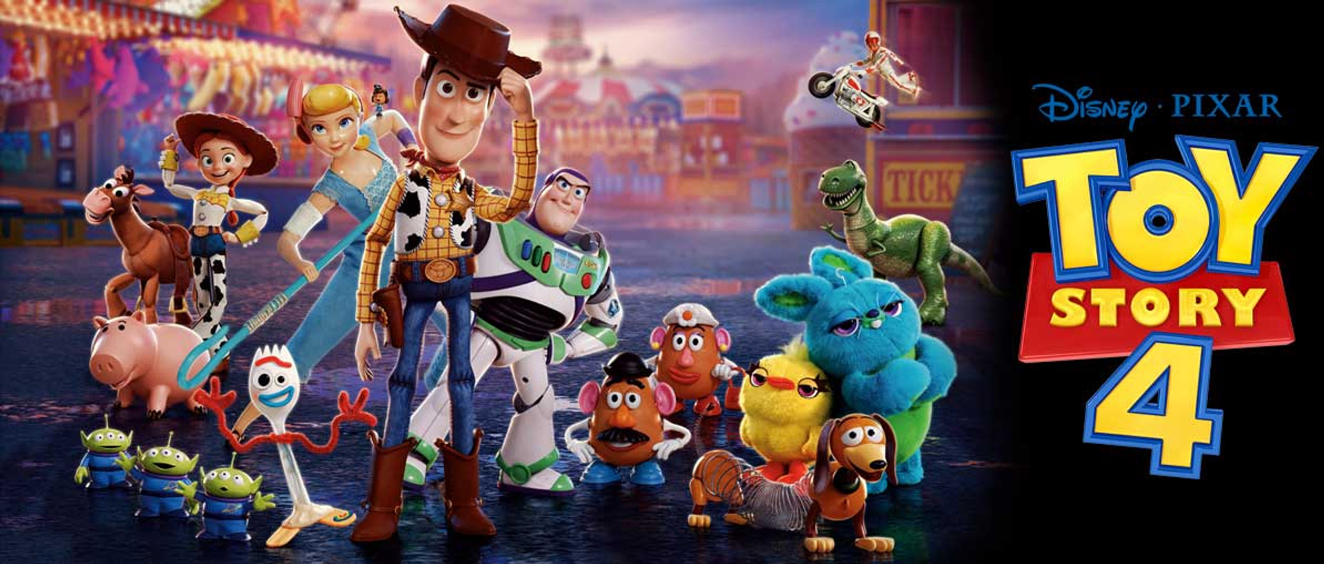 Toy Story 4 character Cardboard Cutouts