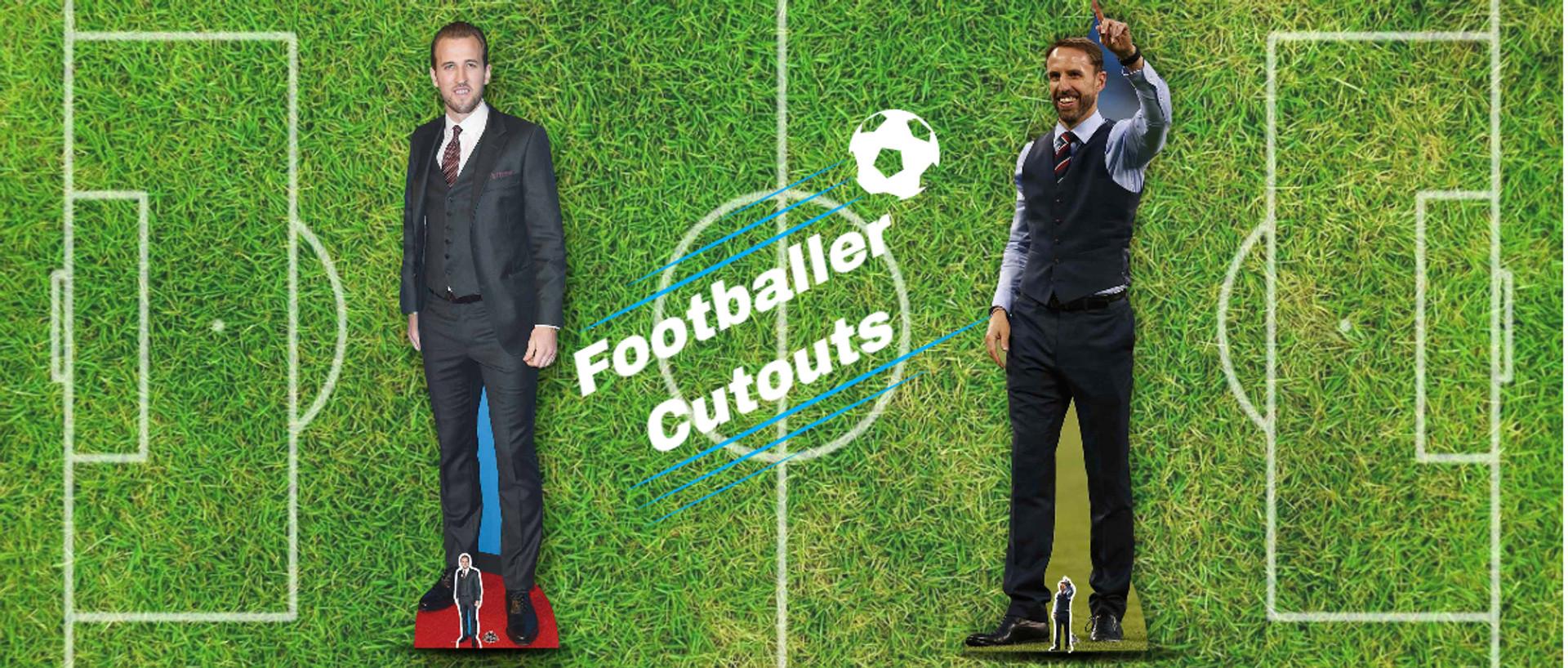 Euro 2020 Football themed cardboard cutouts