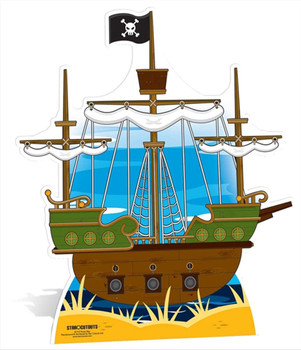 Pirate Stand In (Child Size) Cardboard Cutout  Buy Child