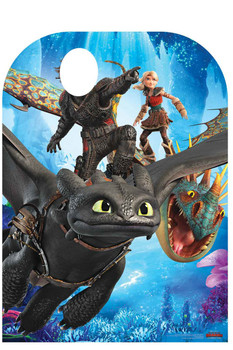 2b75eb7ed6e How to Train Your Dragon 3 Child Size Stand In Official Cardboard Cutout