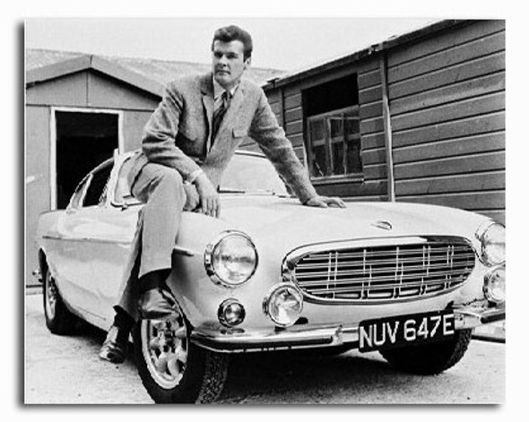 (SS211393) Roger Moore  The Saint Movie Photo