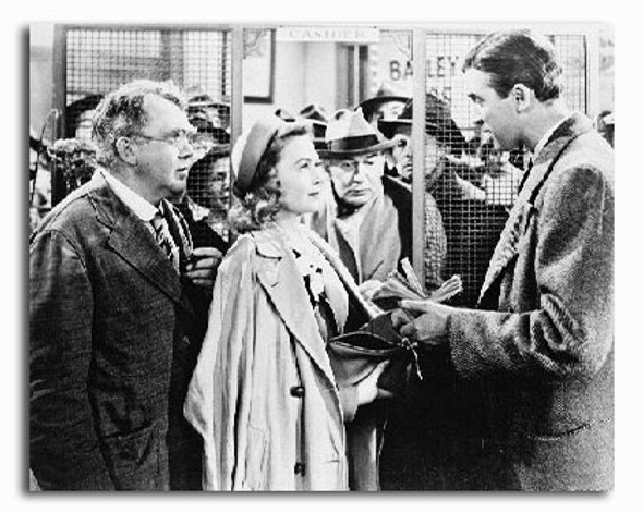 (SS213993) James Stewart  It's a Wonderful Life Movie Photo