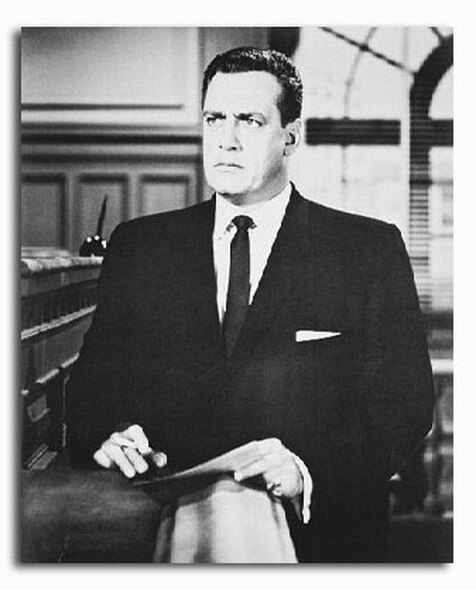 (SS214786) Raymond Burr  Perry Mason Movie Photo