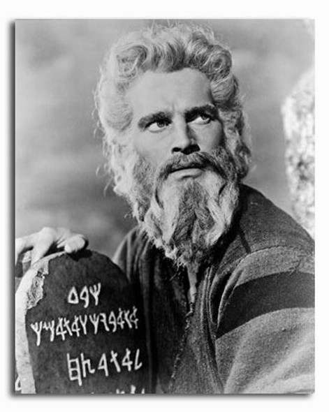 (SS236405) Charlton Heston  The Ten Commandments Movie Photo