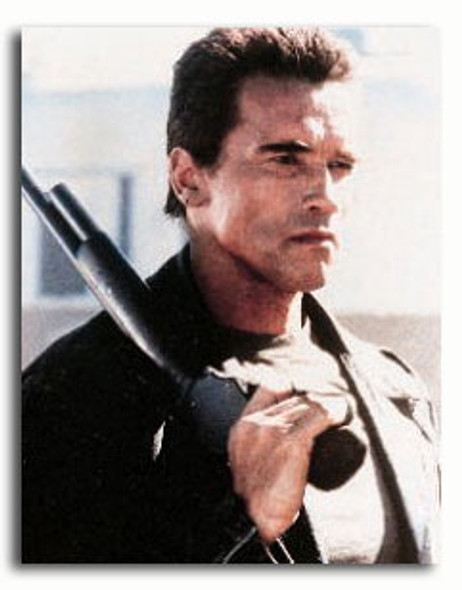 (SS344136) Arnold Schwarzenegger  T2 3-D: Battle Across Time Movie Photo