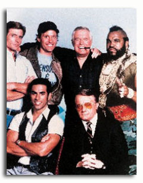 (SS376402) Cast   The A-Team Television Photo