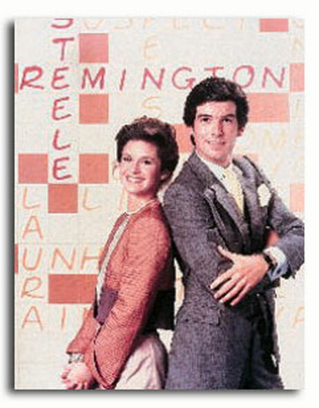 (SS377936) Cast   Remington Steele Television Photo