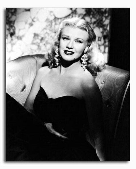 (SS2181010) Ginger Rogers Movie Photo