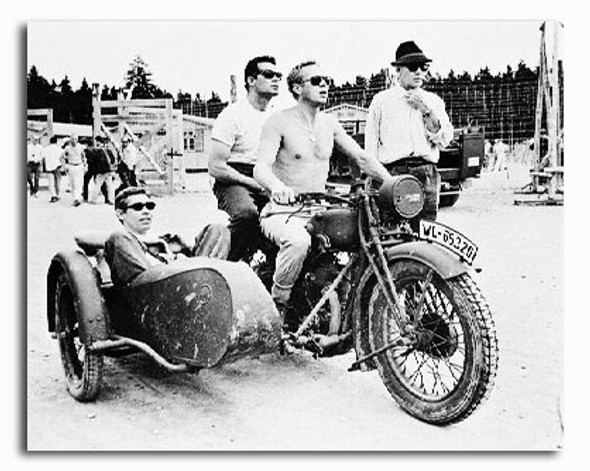 (SS2198547) Steve McQueen  The Great Escape Movie Photo