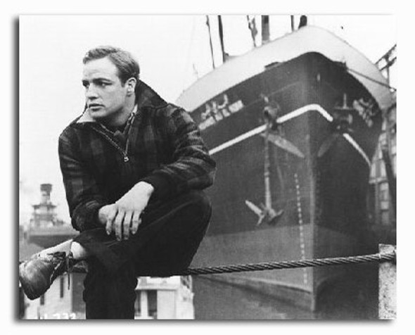 (SS2208167) Marlon Brando  On the Waterfront Movie Photo