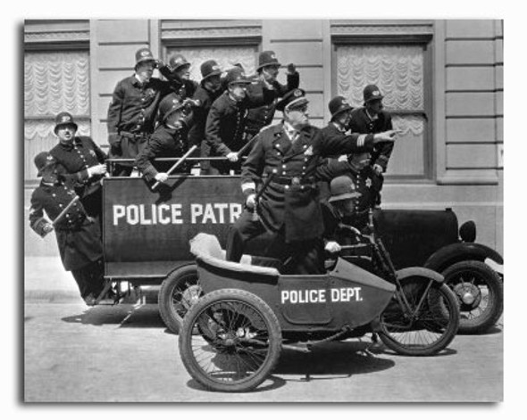 (SS2220582) Keystone Cops Movie Photo