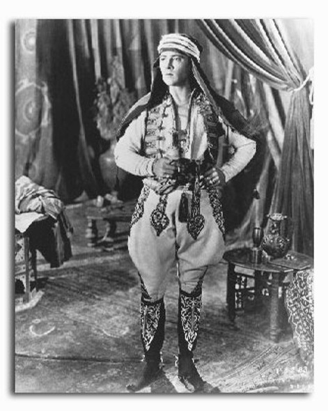 (SS2240407) Rudolph Valentino  The Sheik Movie Photo