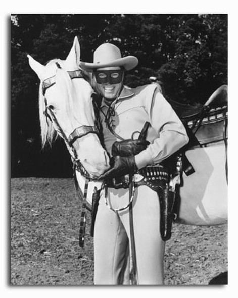 (SS2310009) Clayton Moore  The Lone Ranger Movie Photo