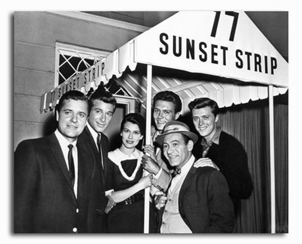 (SS2320799) Cast   77 Sunset Strip Television Photo