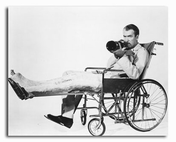 (SS2324023) James Stewart  Rear Window Movie Photo