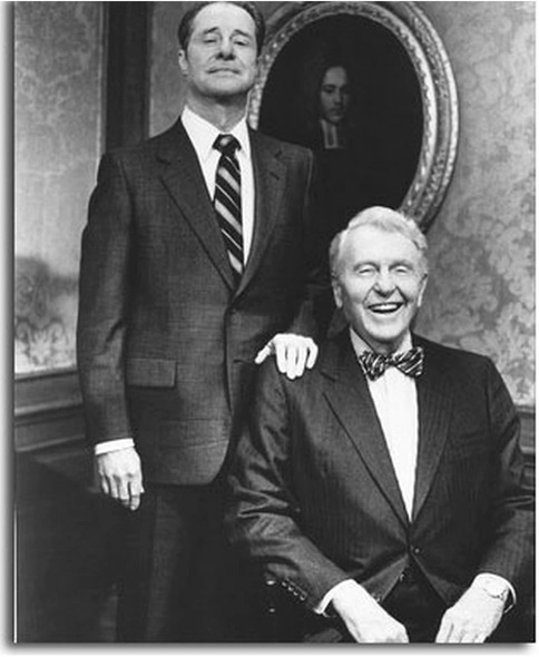 Ralph Bellamy and Don Ameche Trading Places Movie Photo