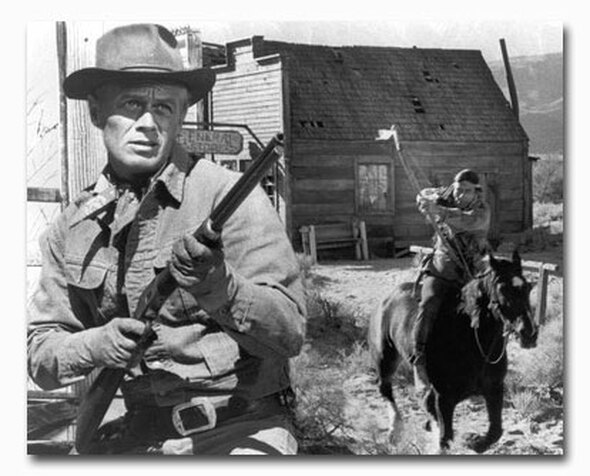 (SS2340403) Richard Widmark  The Law and Jake Wade Movie Photo