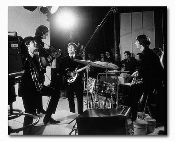 (SS2419001) Cast   A Hard Day's Night Movie Photo