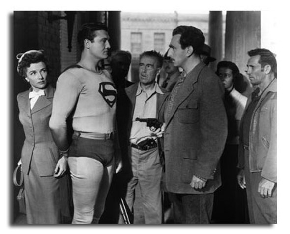 (SS2440906) Cast   Adventures of Superman Television Photo