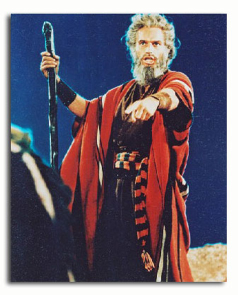(SS2810483) Charlton Heston  The Ten Commandments Movie Photo