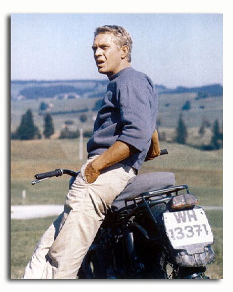 (SS2884024) Steve McQueen  The Great Escape Movie Photo