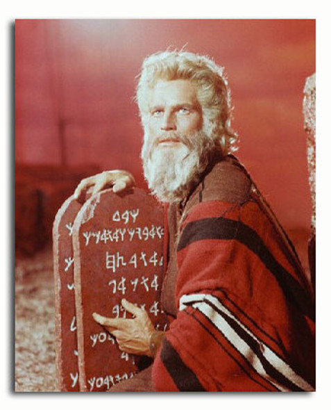 (SS3046940) Charlton Heston  The Ten Commandments Movie Photo